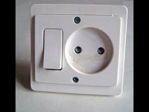 comment brancher un interrupteur et prise de courant avec la lampe ... - Installer Prise Electrique Exterieure