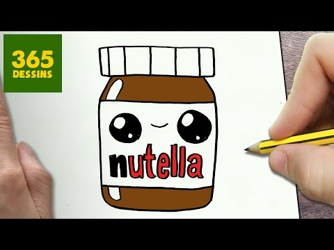 Comment dessiner nutella kawaii tape par tape dessins kawaii facile - Comment dessiner un ananas ...