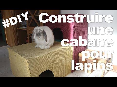 construction d 39 une cabane plateformes pour mes lapins diy tutoriels pour les nuls. Black Bedroom Furniture Sets. Home Design Ideas