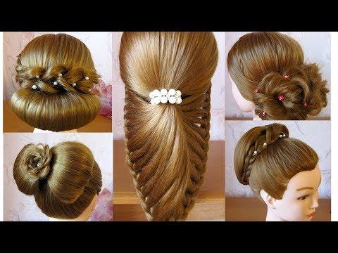 5 coiffures soir e mariage pour les f tes no l tuto coiffures cheveux long facile. Black Bedroom Furniture Sets. Home Design Ideas