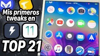 MIS PRIMEROS TWEAKS IOS 11