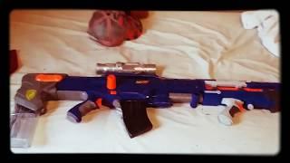 Nerf DSR-50 custom Nerf gun