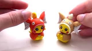 TUTO FIMO | Pikachu cosplay Magicarpe / Magikarp (de Pokémon)