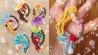 Fimo & polymerclay Mermaid Doll