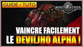 GUIDE/TUTO – VAINCRE FACILEMENT LE DEVILJHO ALPHA👹👹👹 – MONSTER HUNTER WORLD – FR