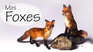 Miniature Fox – Polymer Clay Tutorial