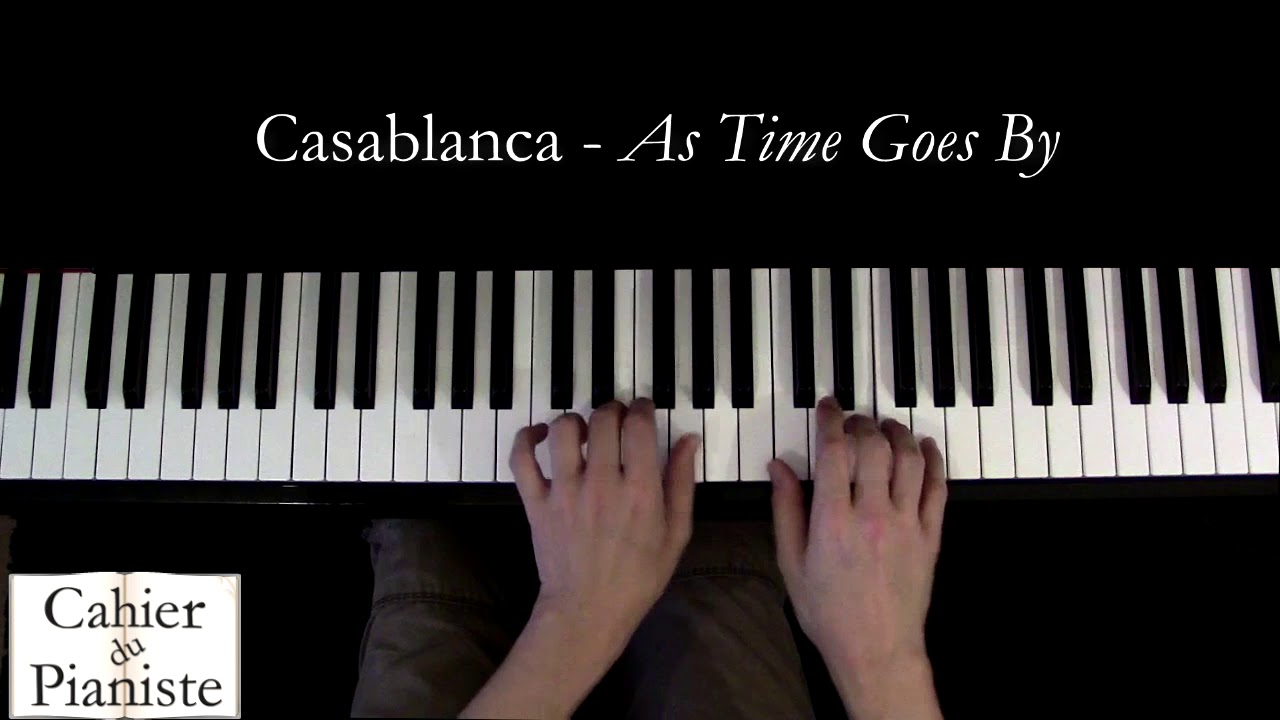 Casablanca  – As time goes by – Piano facile/eay
