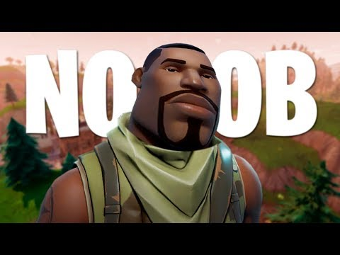 TUTORIAL DE COMO SER NOOB EN FORTNITE
