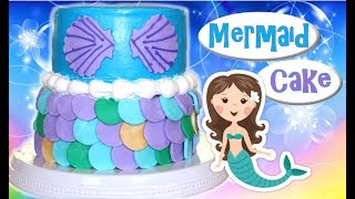 MERMAID CAKE COLLAB WITH MISS TRENDY TREATS – Victoria's Creations Episode #39