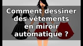 Tuto inkscape : Comment dessiner des vêtements en miroir automatique ?