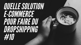 Quelle solution e-commerce pour faire du dropshipping #10